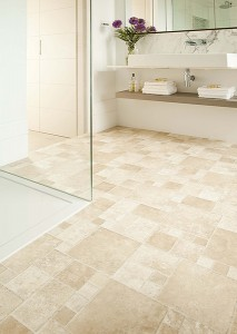 Cushion Vinyl Flooring for Showers
