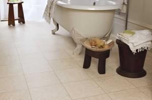 Luxury Vinyl Flooring in the Bathroom