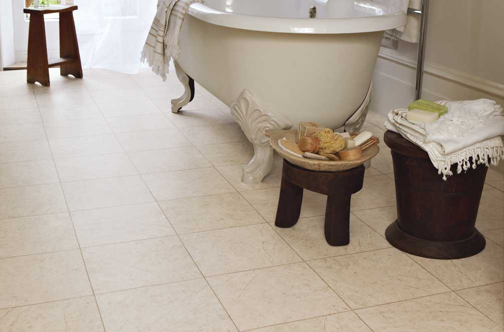 Luxury vinyl tiles lvt flooring commercial for Vinyl flooring bathroom