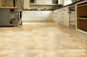 Luxury Vinyl Flooring in the Kitchen