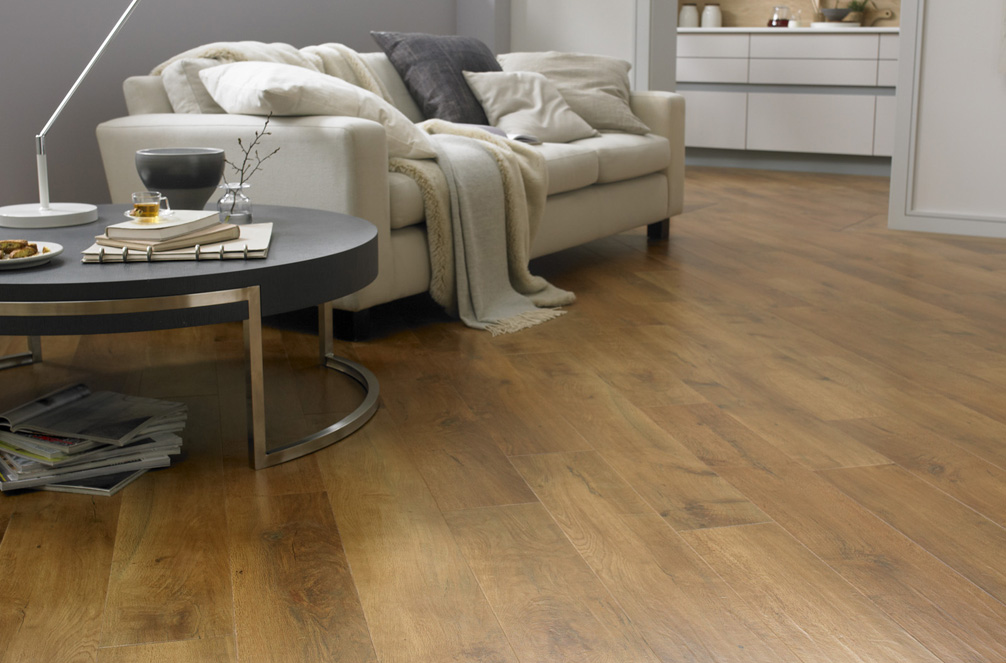 Luxury vinyl tiles lvt flooring commercial for Living room ideas oak flooring