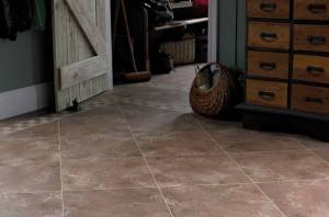 Luxury Vinyl Flooring in the Utility Room